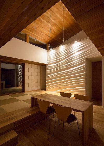 コンテンポラリー リビング by haco建築設計事務所