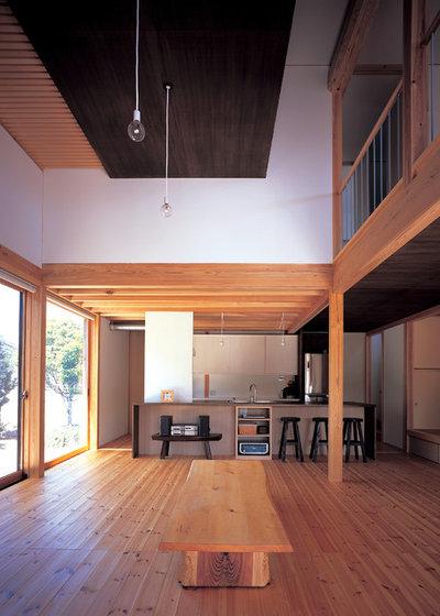 Asian Living Room by 谷重義行建築像景