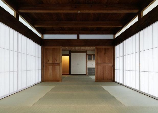 和室・和風 リビング by 青木茂建築工房 SHIGERU AOKI ARCHITECT & ASSOCIATES inc.