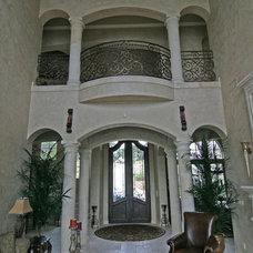Mediterranean Living Room by HAJEK & Associates, Inc.