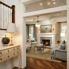 Traditional Living Room by Magleby Construction