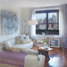 Contemporary Living Room by Jarret Interior Design