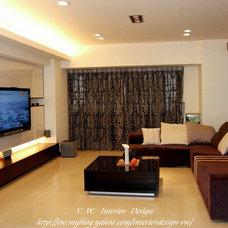 Asian Living Room by Designer zhang