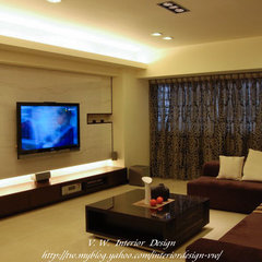 asian living room by Designer zhang