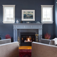 Traditional Living Room by Wallmark Custom Homes