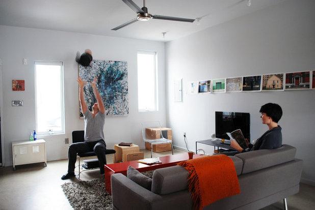 Modern Living Room by Nic Darling