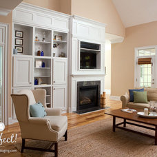 Traditional Living Room by Shop Just Perfect!
