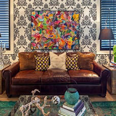 Eclectic Living Room by Peter A. Sellar - Architectural Photographer