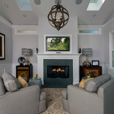 Traditional Living Room by Beach House Design & Development