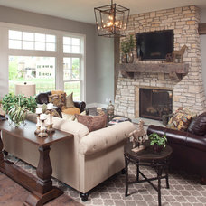 Traditional Living Room by Eibensteiner Real Estate Group - ReMax Results