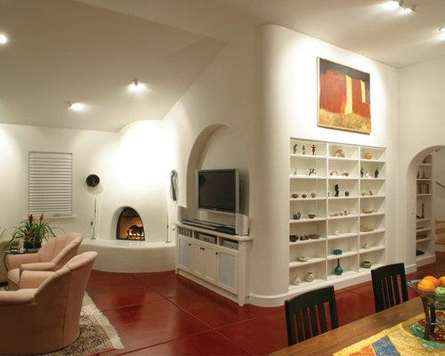 Corner Fireplace Shelves | Houzz