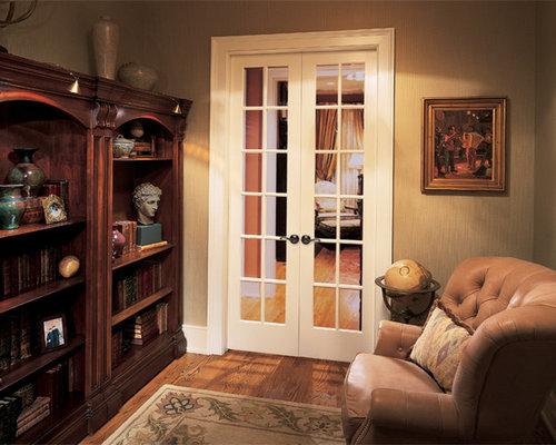 Narrow french doors houzz for B q living room doors