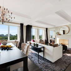Contemporary Living Room by Lo Chen Design