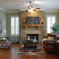 Eclectic Living Room by Accent Home Staging, LLC (Atlanta, GA)