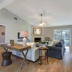 Comfortable Luxury Eclectic Living Room Charleston