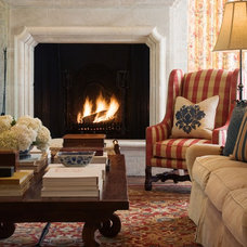 Mediterranean Living Room by Tiffany Farha Design