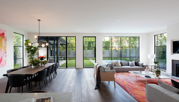 Contemporary Living Room by Emily Tomlinson Design