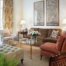 Traditional Living Room by Treby Spanedda Interiors