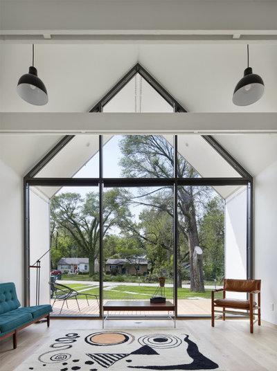 Contemporary Living Room by Studio 804