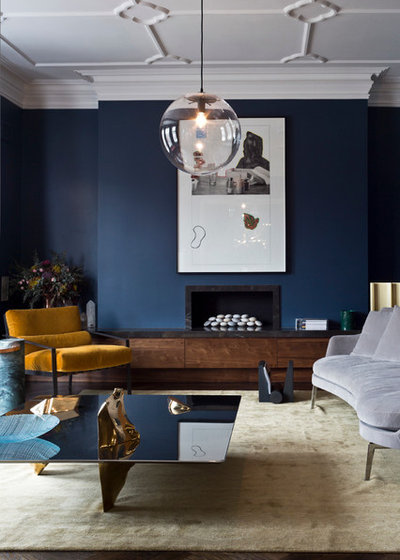 Contemporary Living Room by Charlie Birchmore Photography ltd