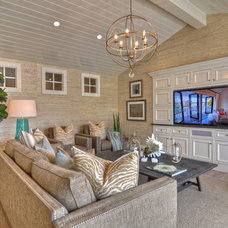Beach Style Living Room by Spinnaker Development