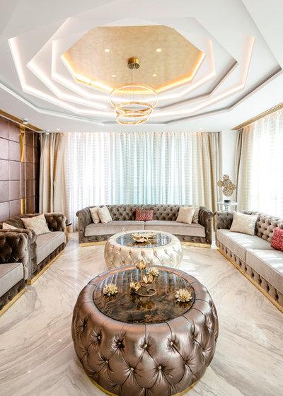 Mediterranean Living Room by Viaanca Interiors