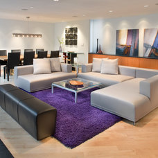 Modern Living Room by Morgan Howarth Photography