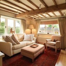Farmhouse Family Room by Icon Interiors Ltd