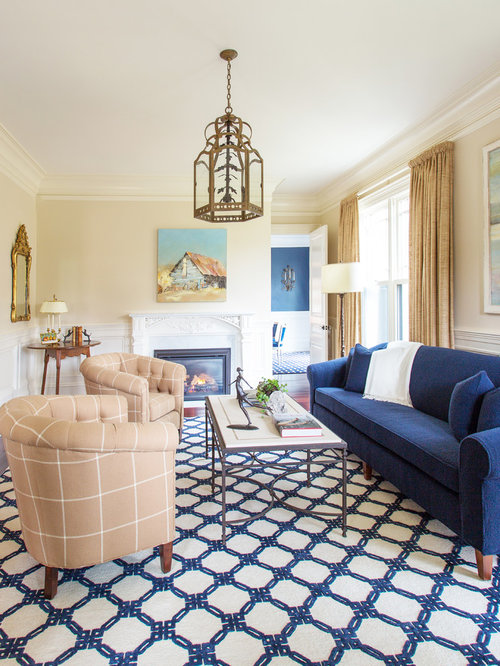 Inspiration For A Large Timeless Formal Carpeted And Multicolored Floor Living  Room Remodel In Boston With Part 62