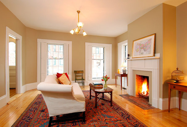 Traditional Living Room by Charlie Allen Renovations, Inc.