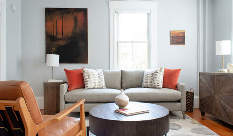A Designer Decorates a Small Living Room for Doting Grandparents