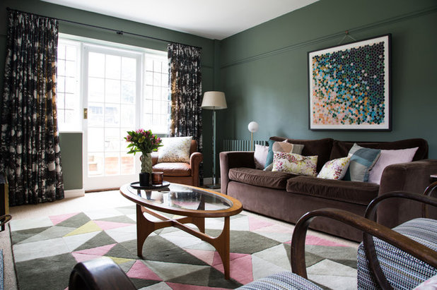 Transitional Living Room by Smartstyle Interiors