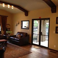 Traditional Living Room by LLJ Interior Design