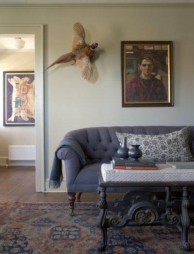 Farmhouse Living Room by Hendricks Churchill