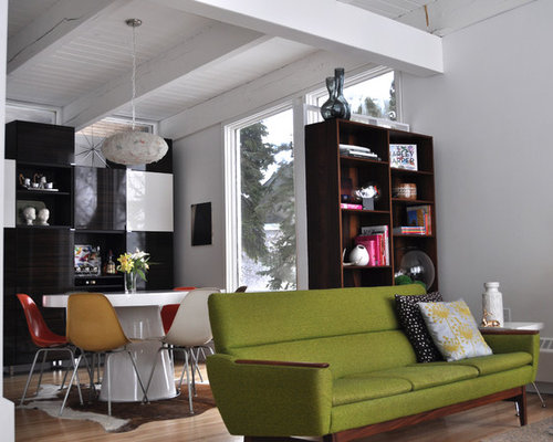 Mid Century Living Room Ideas Pictures Remodel and Decor