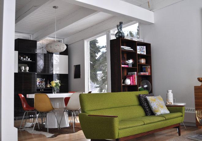 Midcentury Living Room 1958 Mid Century Modern Living Room Remodel