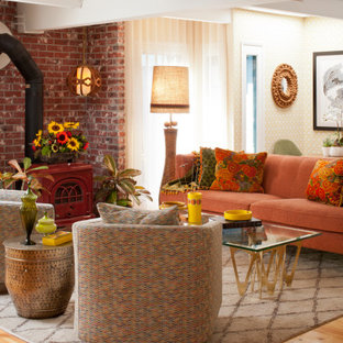 75 Beautiful Brown Living Room Pictures Ideas November 2020 Houzz
