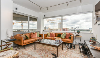 1980s Hi-Rise Condo Goes Mid Century Modern in Houston's Museum District