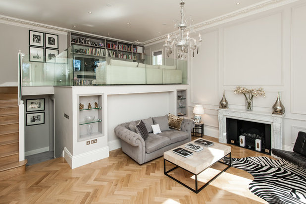 traditional living room by charlie kingham london - Open Plan Living Room Pictures