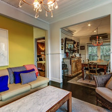 Eclectic Living Room by Andrew Patton Photography