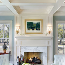 Traditional Living Room by Cobb Architects