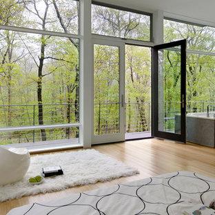 Modernes Wohnzimmer in New York