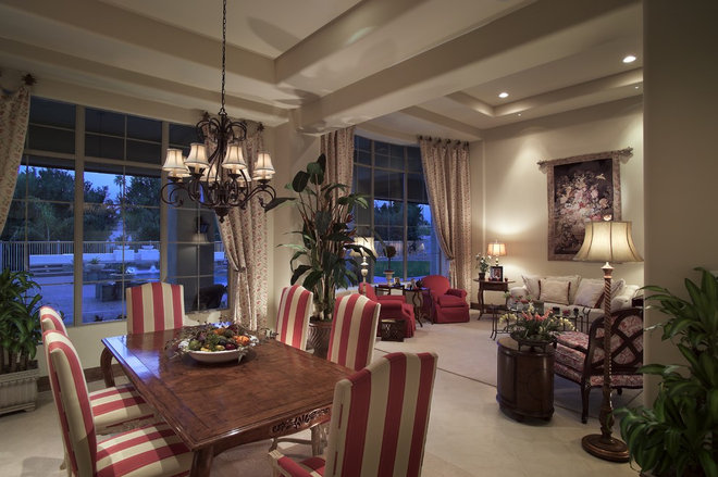 Mediterranean Living Room by Ernesto Garcia Interior Design, LLC