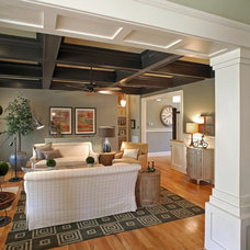 Traditional Living Room by R.S. Hulbert Builders, Inc.