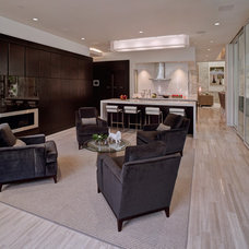 contemporary living room by Phil Kean Designs