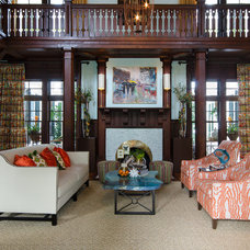 Eclectic Living Room by Jennifer Stoner Interiors
