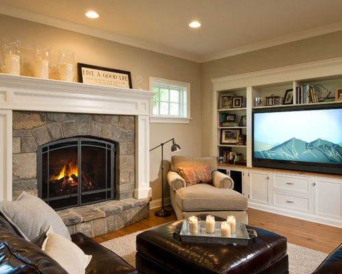 homes interiors and living center fireplace home design ideas pictures remodel and 18454
