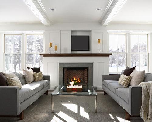 Hide Tv Over Fireplace | Houzz