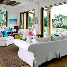 Contemporary Living Room by LoParco Associates, Inc.