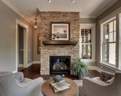 Stone Fireplace Walls stone fireplaces | houzz